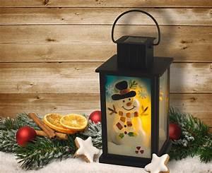 Lanterne De Noel : lanterne lampe solaire no l bonhomme d coration solaire no l objetsolaire ~ Teatrodelosmanantiales.com Idées de Décoration