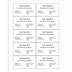 Avery business card templates 10 per sheet quotes for Template for business cards 10 per sheet