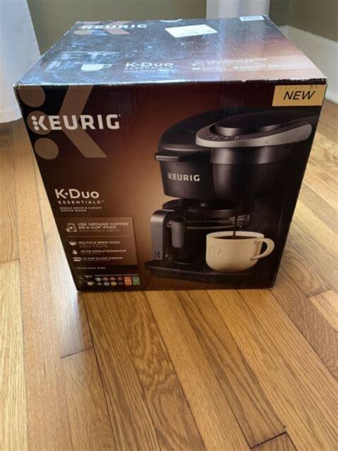 Einloggen und zur kasse gehen. Keurig K-Duo Single-Serve & Carafe Coffee Maker - Black for sale online   eBay