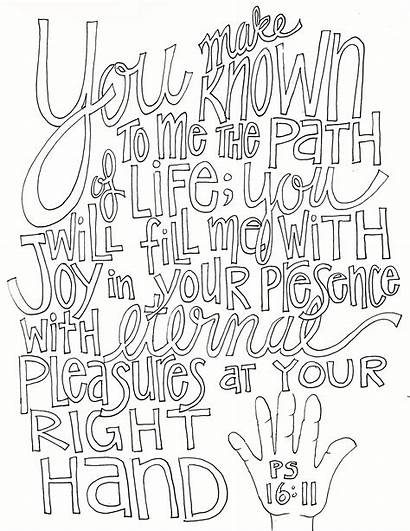 Coloring Psalms Pages Psalm Printable Getcolorings 1611