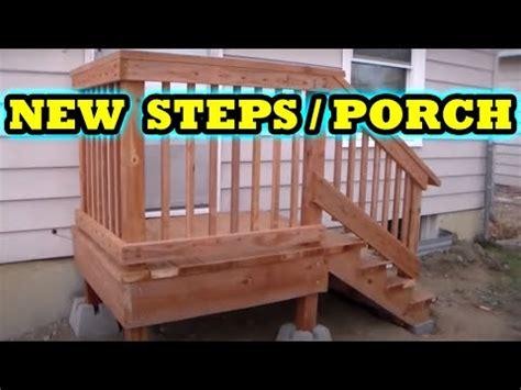 build freestanding porch steps home depot diy