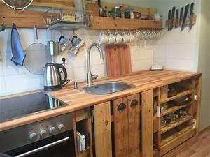 Küchen Selber Bauen : paletten k che in 2020 k che bauen k che selber bauen ~ Watch28wear.com Haus und Dekorationen