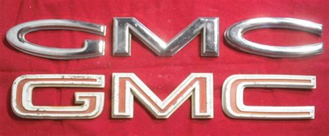 6066 Gmc Emblem Identification