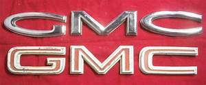 6066 gmc emblem identification With gmc grill letters