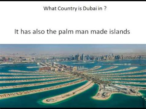 What Country Is Dubai In Youtube