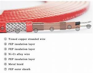 Constant Wattage Electric Heating Tracing Cable