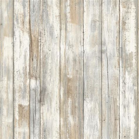 stick and peel wallpaper rmk9050wp distressed wood peel and stick wallpaper free shipping ebay