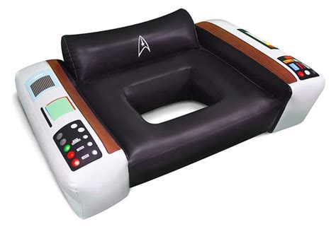 trek captains chair float 10 geeky furniture pieces for any trek fanatic homecrux