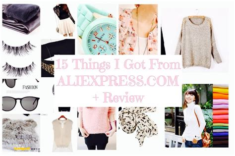 15 Things I Got From Aliexpresscom  Aliexpress Review