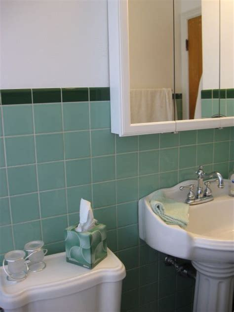 seafoam green tile 1950s bathroom 36 1950s green bathroom tile ideas and pictures tsc