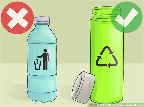 3 Ways To Reuse Empty Water Bottles Wikihow