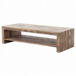 wynn modern rustic lodge chunky reclaimed wood rectangle With reclaimed wood rectangular coffee table