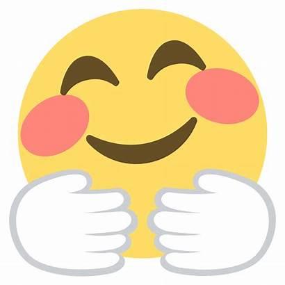 Hug Emoji Hugging Clipart Face Emoticon Smiley