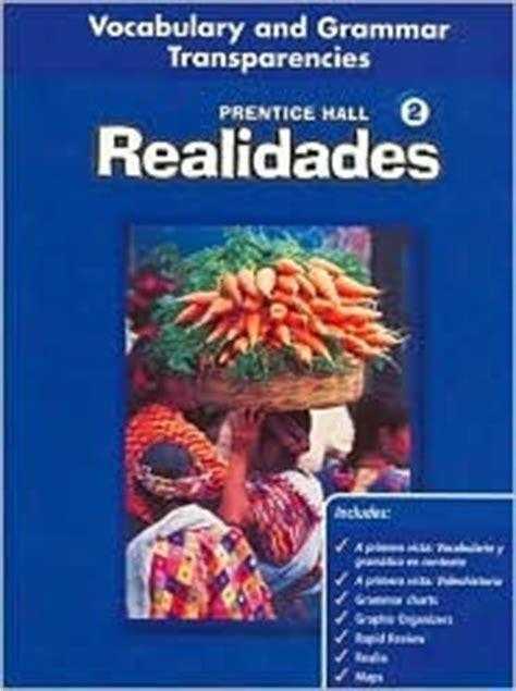 prentice hall realidades  teachers edition vocabulary