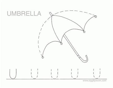 umbrella preschool printable worksheets practice worksheets