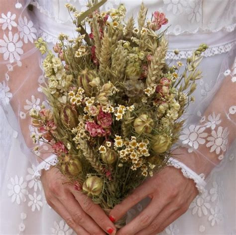 Rustic Country Wedding Bouquet  The Artisan Dried Flower