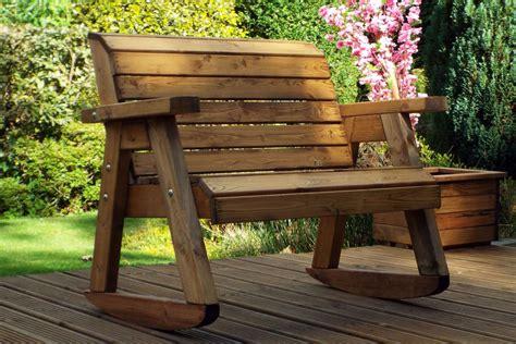 wooden bench rocker kids garden furniture bench rocker