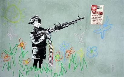 Banksy Graffiti Street Quotes Wallpapersafari