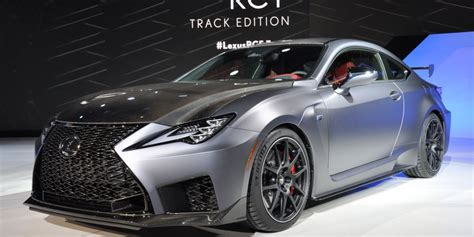 Lexus Sports Car 2020 by 2020 Lexus Rc F Track Edition Is Virtually The Last Of Its