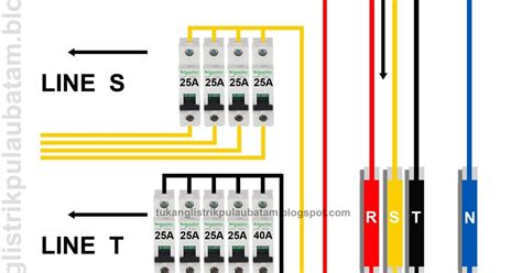 instalasi listrik 3 phase untuk pemula tukang listrik batam