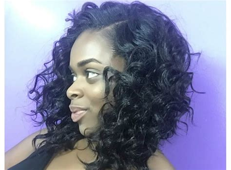 Best Short Curly Weave Hairstyles