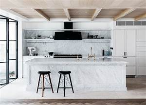 Room of the Week :: A To-Die-For Marble Kitchen - coco