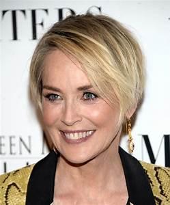 Sharon Stone Layered Razor Cut - Short Hairstyles Lookbook ...
