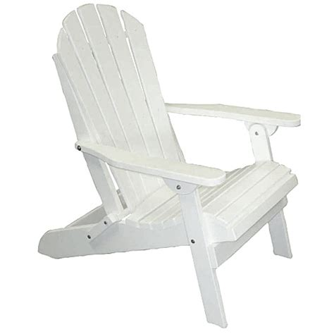weather resistant trex material white adirondack folding