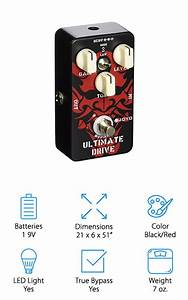 10 Best Overdrive Pedals 2019  Buying Guide   U2013 Geekwrapped