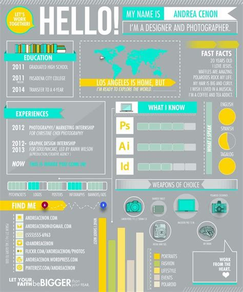 17 best images about cv on infographic resume