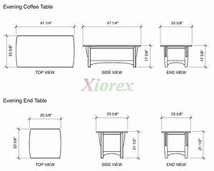 Coffee Table Sizes - Home Design