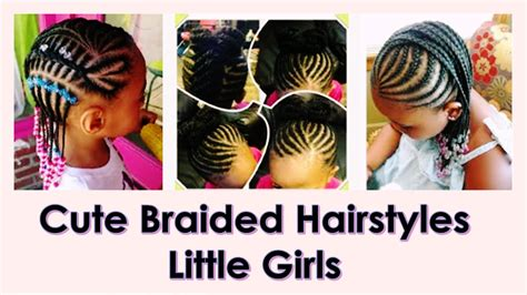 Cute Braided Hairstyles For Little Black Girls 2016