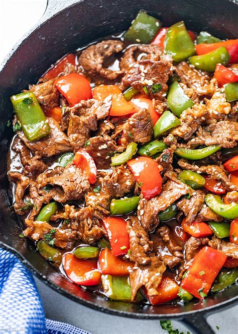pepper steak stir fry recipe eatwell