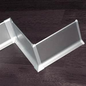 Hauteur Plinthe Carrelage : plinthe alu anodis argent 60mm ~ Premium-room.com Idées de Décoration