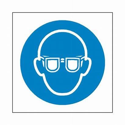 Protection Eye Wear Label Symbol Sign Safety
