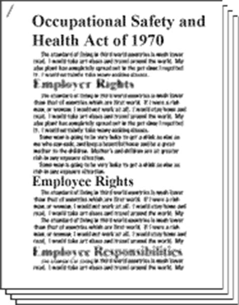 section 11 c of the osh act osh act and osha standards
