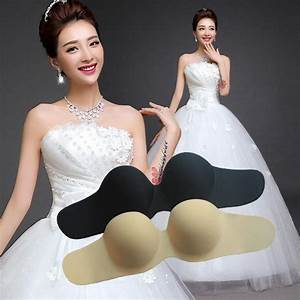 Strapless push up bra for wedding dress wwwimgkidcom for Strapless push up bra for wedding dress