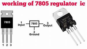 7805 Regulator Ic Explained In Hindi   How To Use 7805 Ic