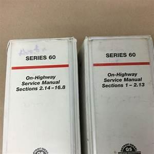 Detroit Diesel Series 60 Service Shop Repair Manual