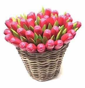 Rose Aus Holz : rose tulpen aus holz in einem korb der holl ndische holzschuhe laden ~ Eleganceandgraceweddings.com Haus und Dekorationen