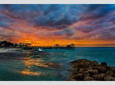 Wallpaper Sea, 5k, 4k wallpaper, ocean, sunset, rocks