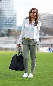 Décontracté Chic : i love stan smith adidas pantalon kaki et d contract chic ~ Melissatoandfro.com Idées de Décoration