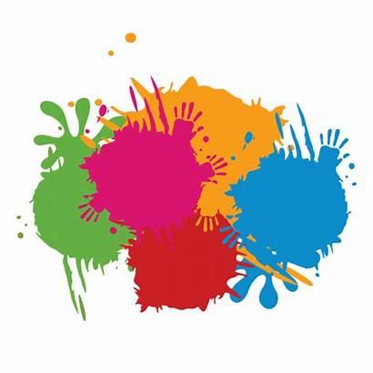 Splash Paint Clipart Colour Splatter Psd Transparent