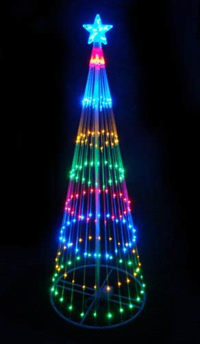 Fibre Optic Christmas Tree 6ft by Outdoor Chrismas Decorations Chrismas Decorations 50th