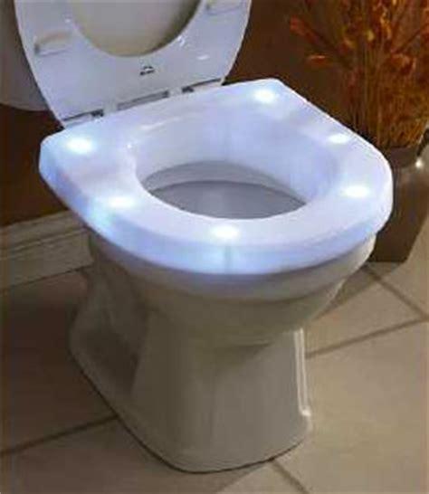 light up toilet seat unitasker wednesday light up toilet seat unclutterer
