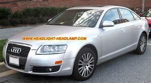 Audi A6 C6 Standard Halogen Headlight Rear Tail Lamp Upgrade To Bi