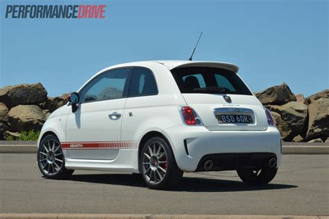 2018 Fiat 500 Abarth Esseesse Rear