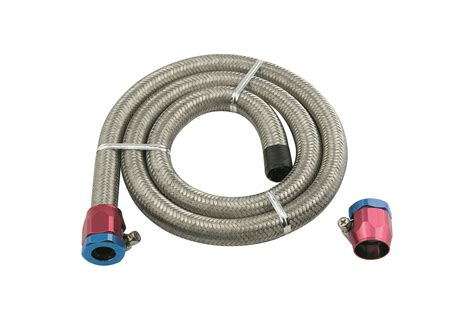 Mr. Gasket 1526 Steel Braided Fuel Line Kit Universal Tube