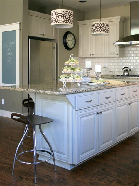 white kitchen with island customize your kitchen with a painted island hgtv
