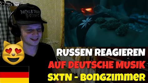 Russians React To German Music  Sxtn Bongzimmer